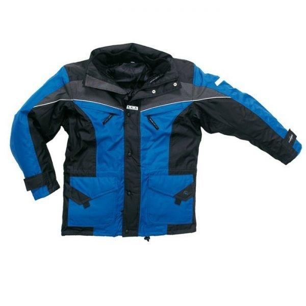 Parka Outdoor K-line korenblauw/zwart