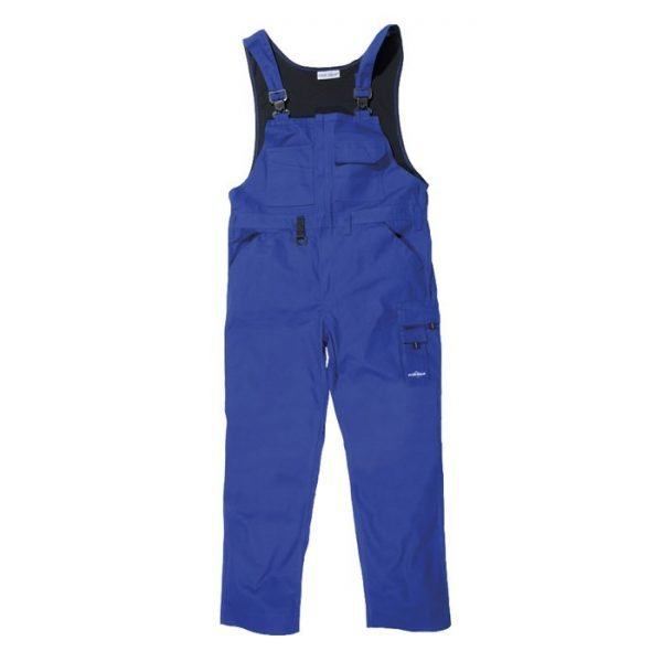 canvas overall Reuver korenblauw