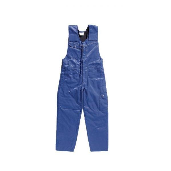 koudwerend en waterafstotend bodybroek Druten korenblauw