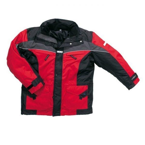 Parka Outdoor K-line rood/zwart