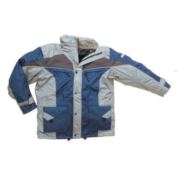 Parka Outdoor K-line marineblauw/grijs