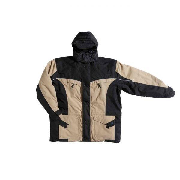 Parka Outdoor K-line khaky/zwart