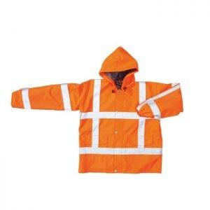 Hi Vis Parka Simply No Sweat fluor oranje