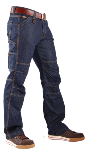 TOOLBOX-M Blue Denim Jeans-0