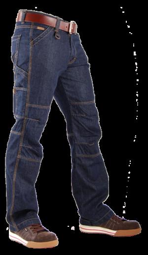 TOOLBOX-M Blue Denim Jeans-0