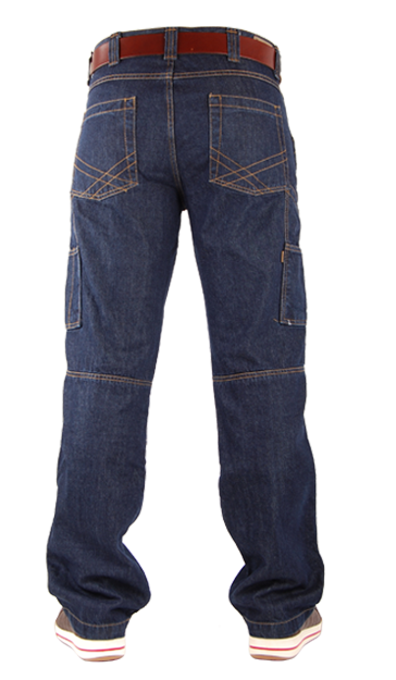 TOOLBOX-M Blue Denim Jeans-19020