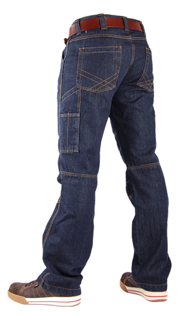 TOOLBOX-M Blue Denim Jeans-19025