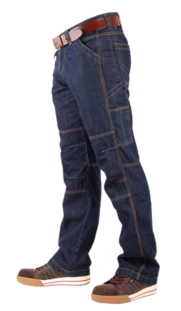 TOOLBOX-M Blue Denim Jeans-19023
