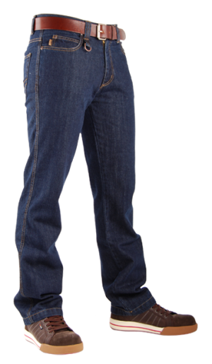 Jeans Worker TRUCKER original 5-pocket heup fit, leverbaar in 3 kleuren!-0