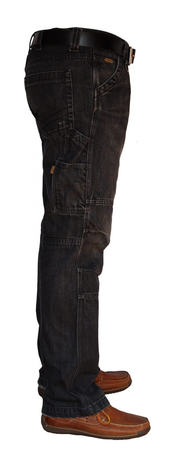 Black Denim Worker Jeans