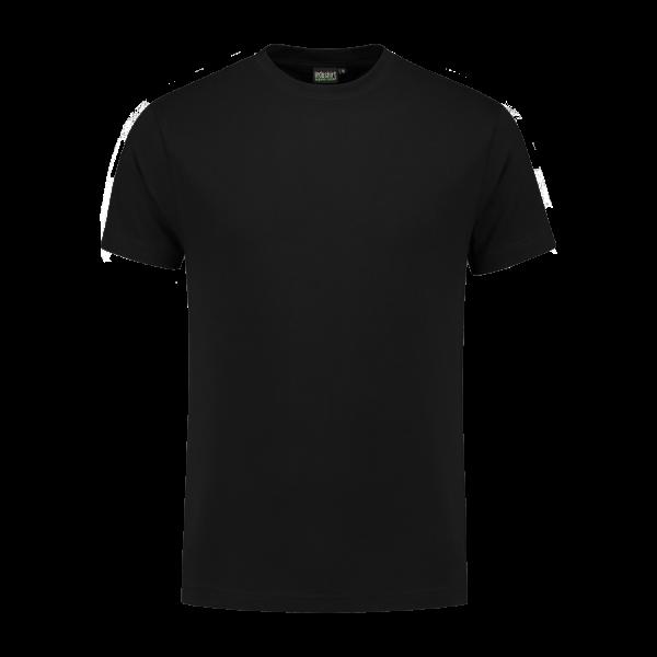 zwart biologisch werk shirt