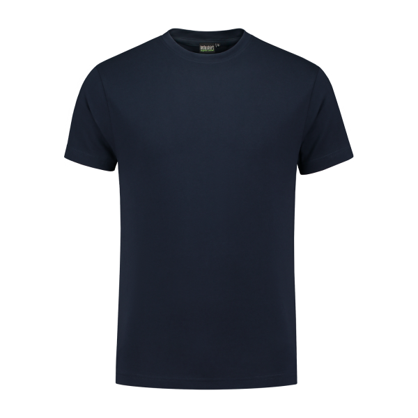 marine blauw werk shirt
