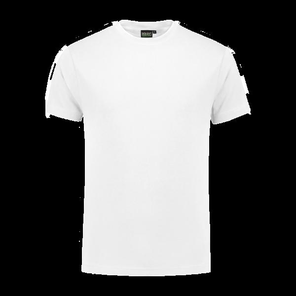 100% Katoenen T-Shirt wit