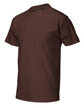 T-shirt casual chocolate