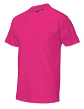 T-shirt casual fuchsia
