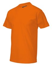 T-shirt casual orange