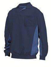 fleece sweatshirt donkerblauw