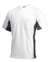 wit t shirt voor heren lutex