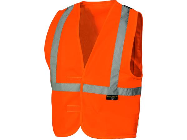 Veiligheidsvest voor kinderen oranje RWS