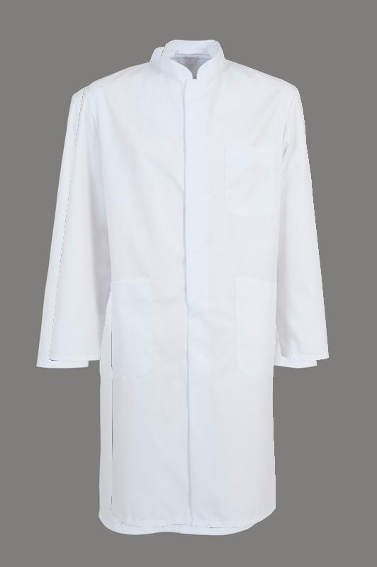 Doktersjas Floris is in de kleur wit beschikbaar