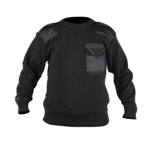 Commando sweater zwart