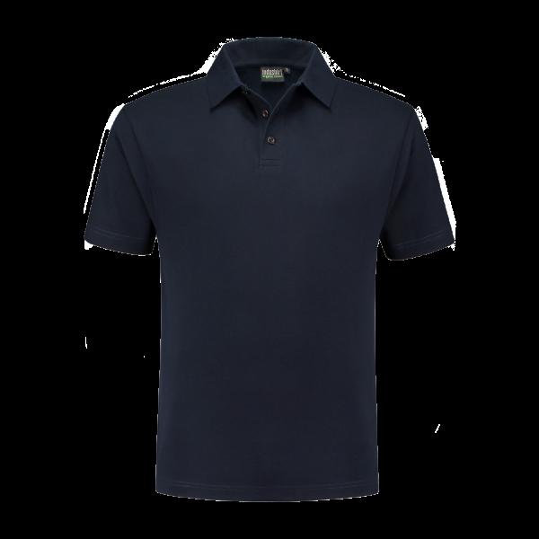 Marine blauw poloshirt