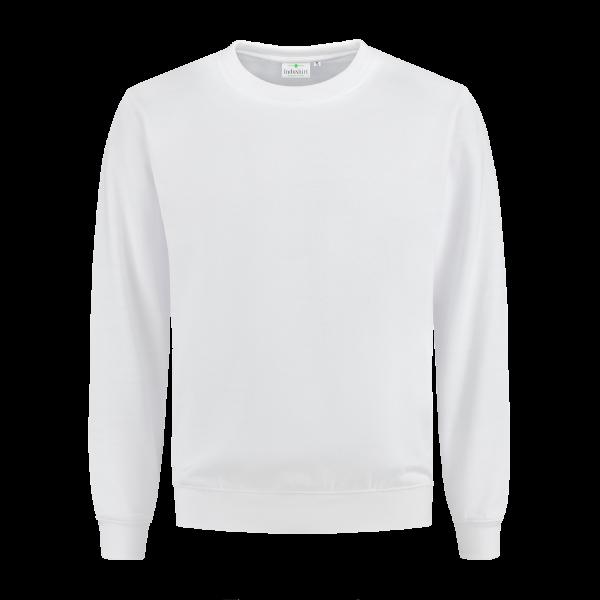 Witte trui ronde hals