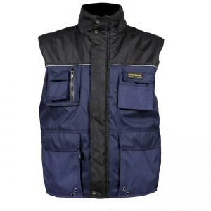 warme Bodywarmer met fleece voor heren