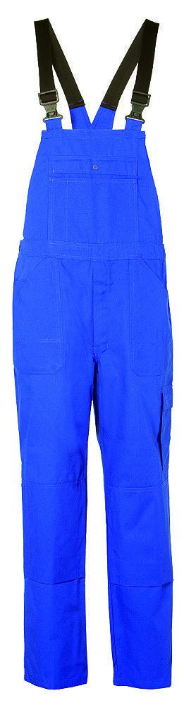 Amerikaanse overall korenblauw met galgengesp