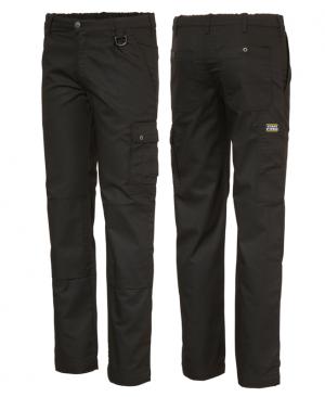 zwarte lange werkbroek polyester/ katoen