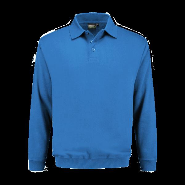Polo Sweatshirt blauw