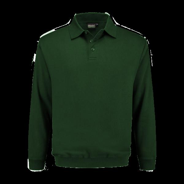 Polo Sweatshirt groen