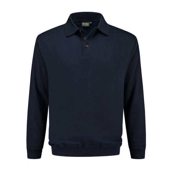 Polo Sweatshirt marine