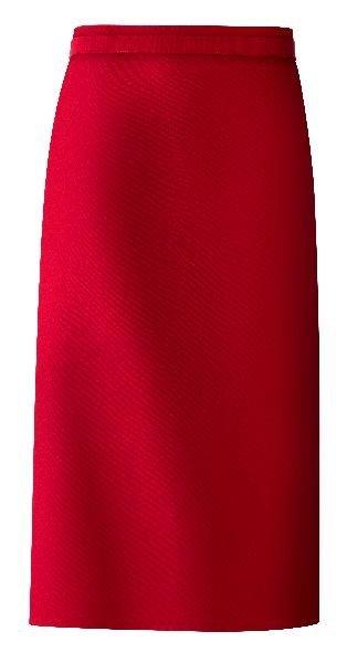 mooie horeca sloof rood lang