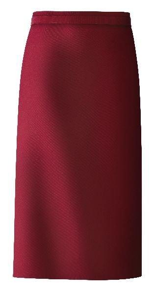 kokssloof bordeaux katoen/polyester