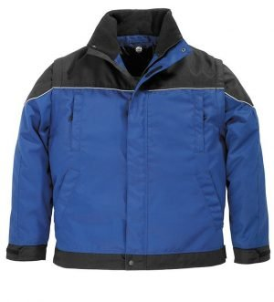 Polyester Pilotjack TOM blauw