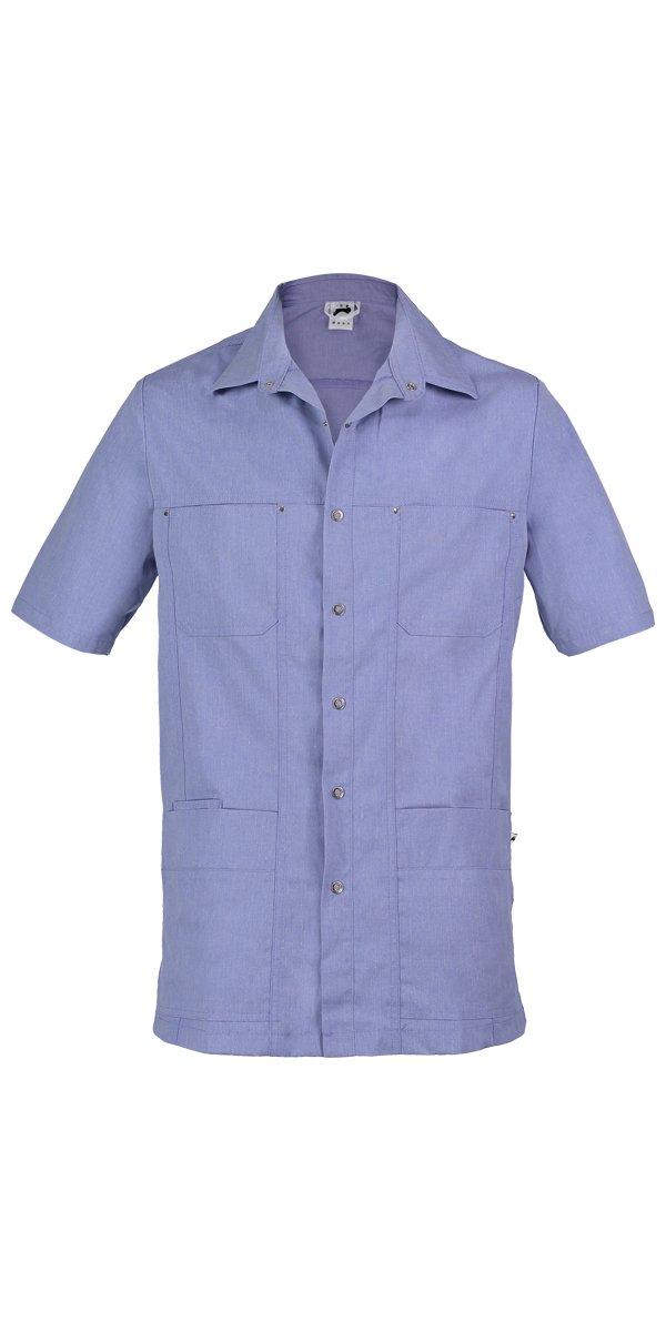 blauw verpleeg jasje mannen