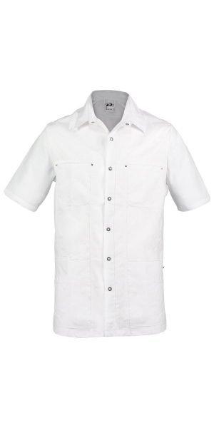 wit verplegersjas voor mannen