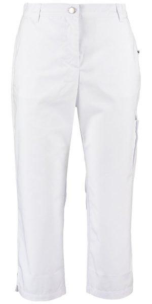 3 4 witte dames pantalon voor zorg en klinieken