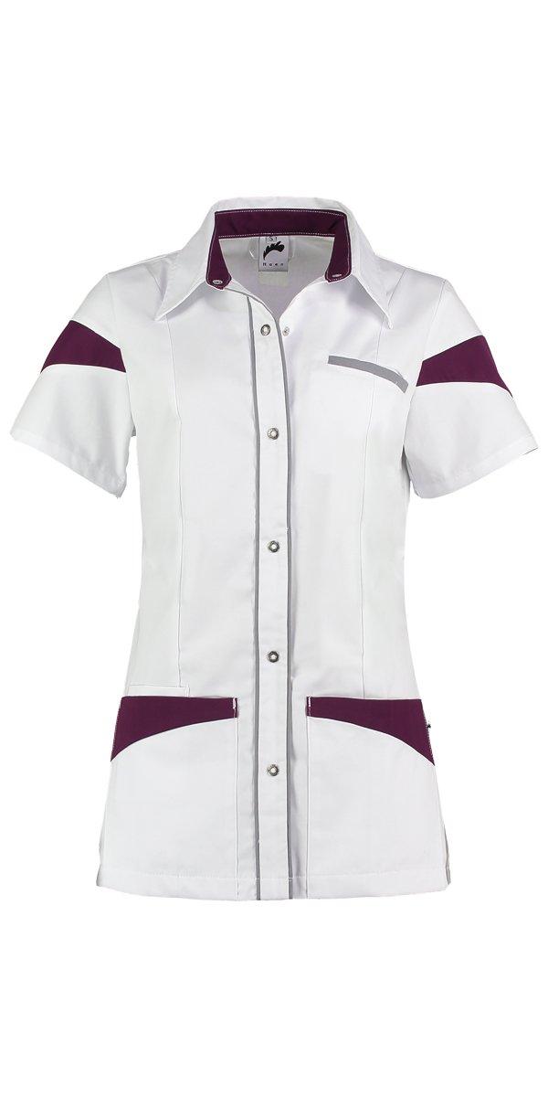 Uniform verpleegkundige wit / grijs