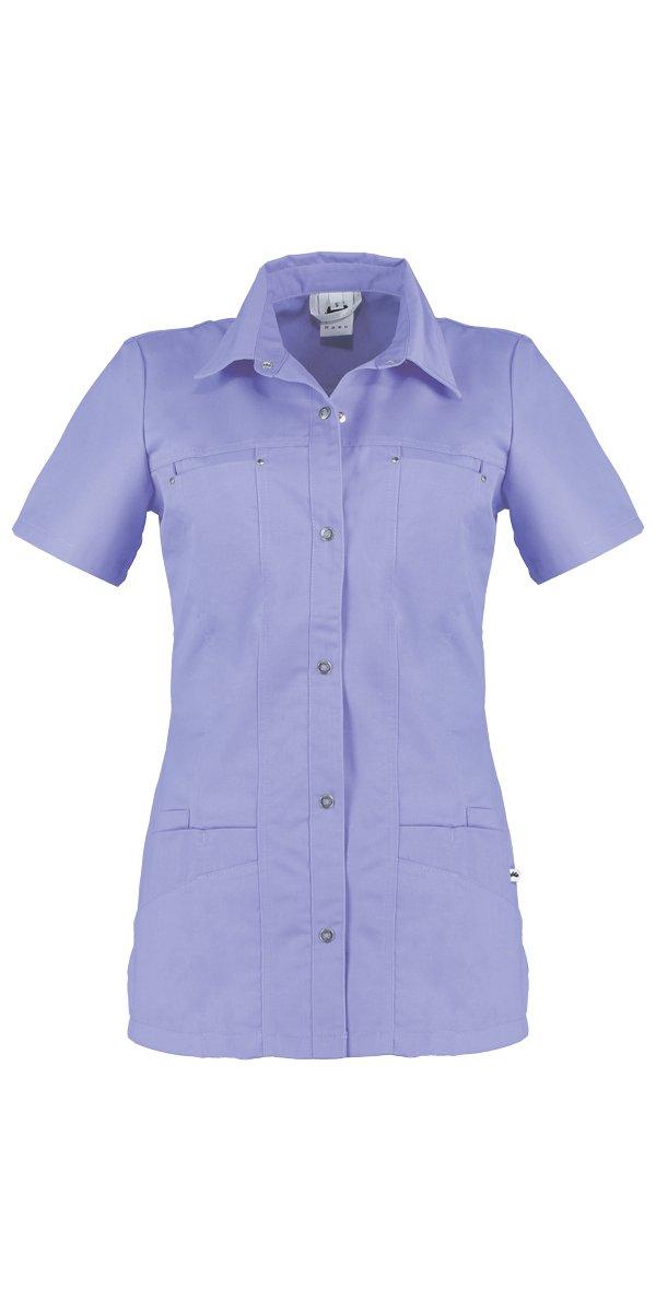 paars jeans tuniek voor dames in de zorg