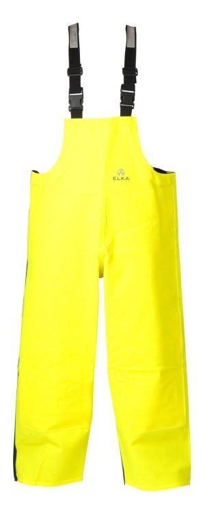 fluor geel broek voor sportvissers