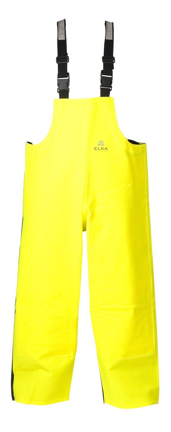 fluor broek voor vissers | gele regenbroek bestellen