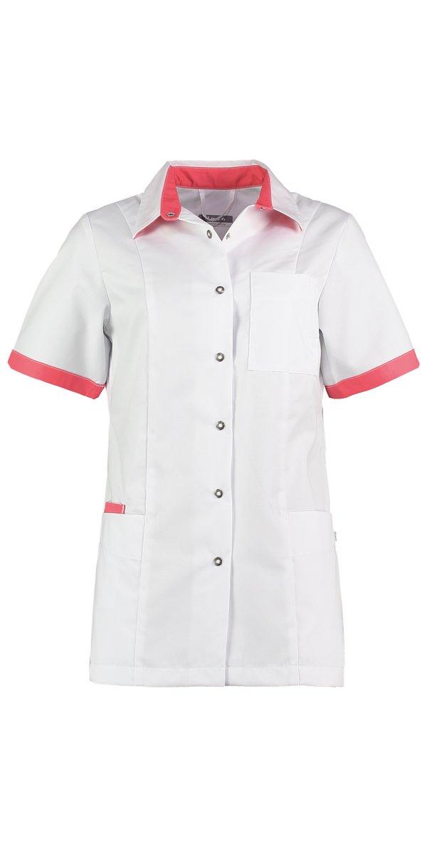 Zorg uniform wit rood