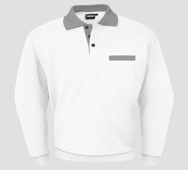 Polo sweatshirt wit