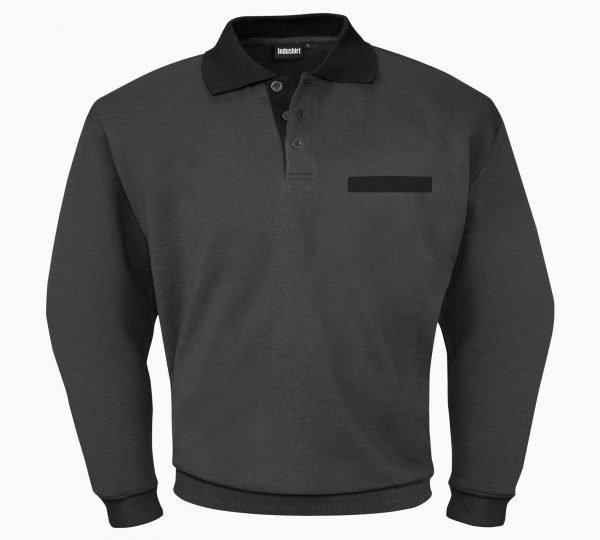 zwart antraciete werk shirt