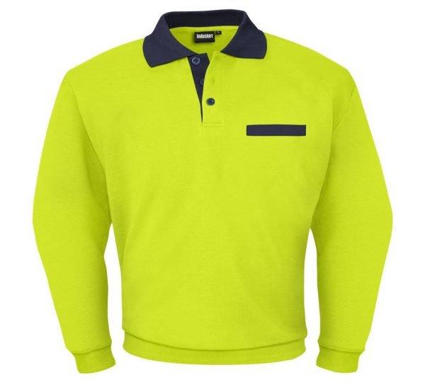 lime green sweatshirt voor mannen