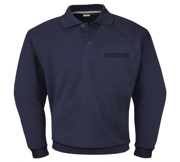 mooie marine blauwe sweatshirt