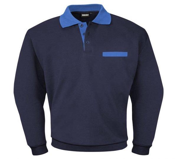 stevige duurzame sweater met borstzak