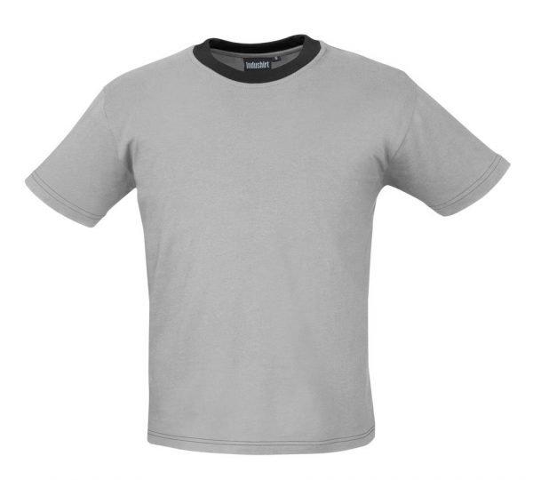 grijze werk t-shirt